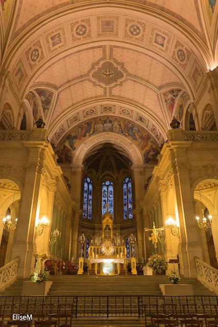 Autel de l'église de la Trinité