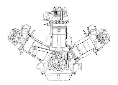 V12 Racing Engine