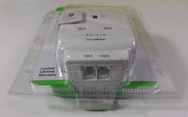 (Ulasan) Belkin Surge Protector Advanced Series