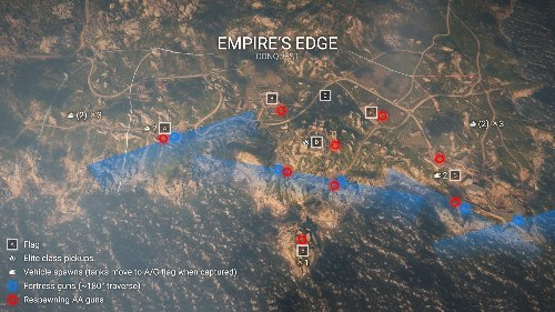 Empire's Edge Battlefield 1 Flak Locations