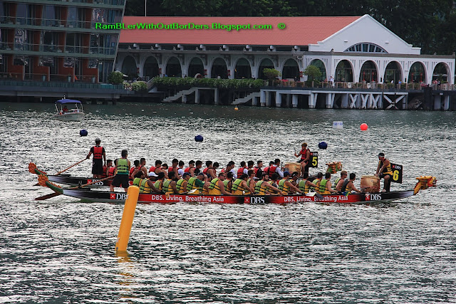 Dragon boat race, DBS Marina Regatta, Singapore