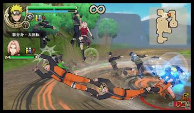 Naruto Shippuden - Ultimate Ninja Impact Free