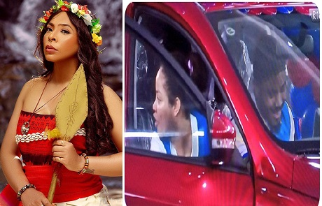 BBNaija: TBoss shades Nengi as she celebrates Ozo for winning a new car