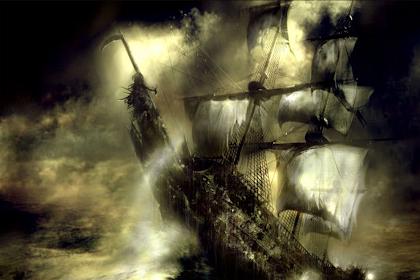 Flying Dutchman, Kapal Terkutuk yang Tak Bisa Berlabuh