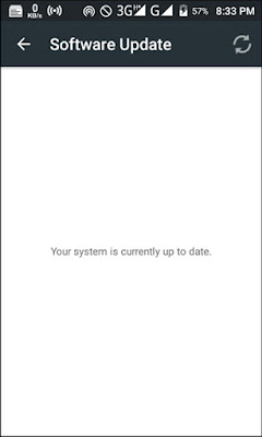 Your system is currently up to date