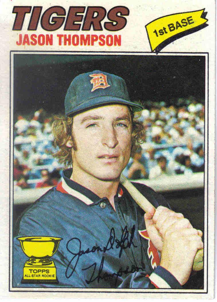 Baseball 1977 1977 Topps Baseball 291 Jason Thompson