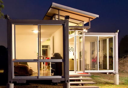 Decorate a Container Homes Kits Ideas 6