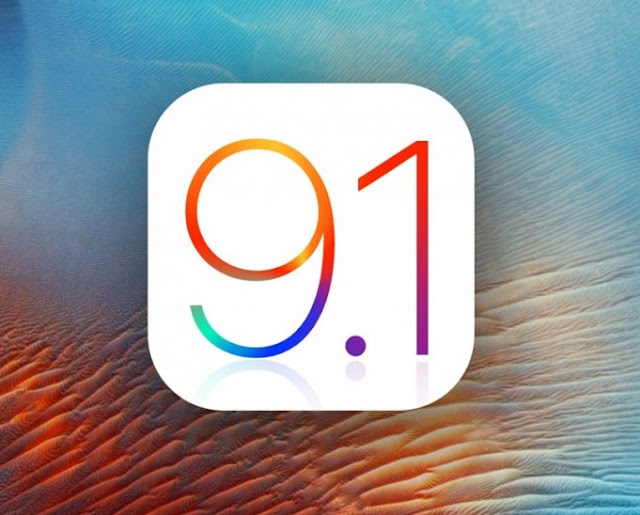iOS 9.1 can not be installed on the iPhone or iPad