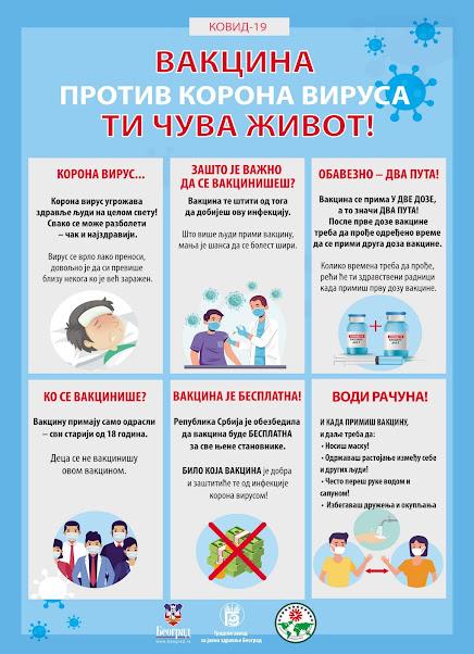 Vakcinom do normalnog života