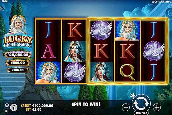 Main Gratis Slot Indonesia - Lucky Lightning Pragmatic Play