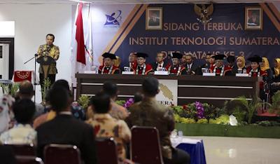 Dies Natalis Itera ke-3, Gubernur: Jadikan Lampung sebagai Provinsi Unggulan SDM