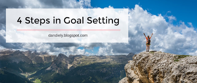 4 Steps in Goal Setting