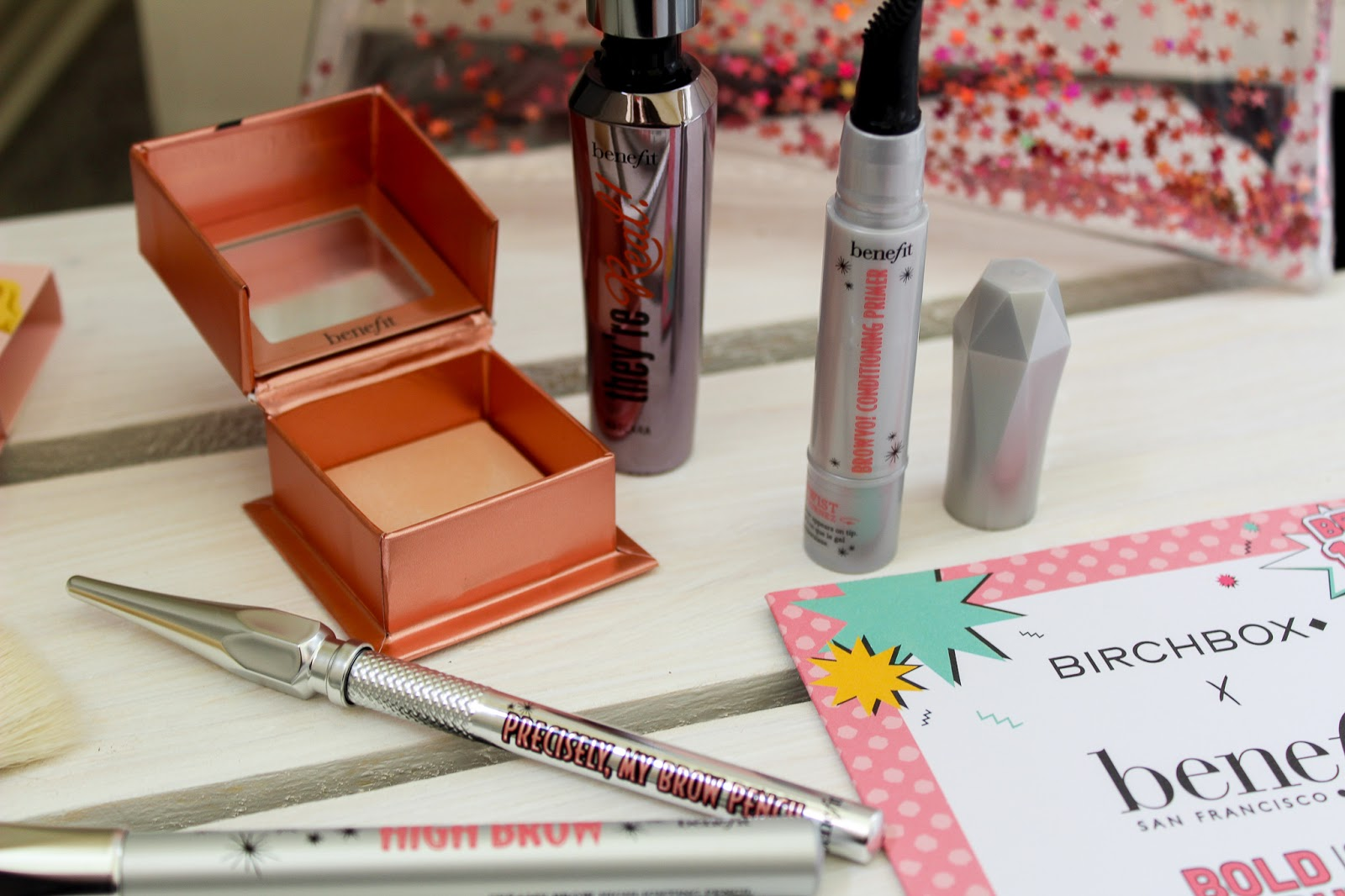 Birchbox X Benefit Bold is Beautiful Limited Edition Pouch