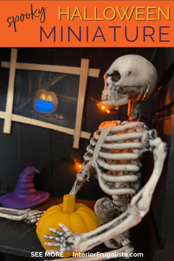 Spooky Halloween Miniature