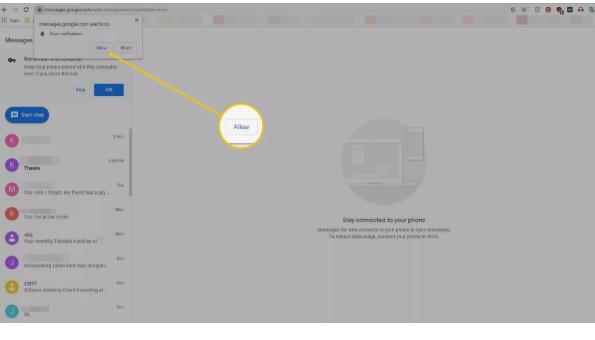 Cara Mudah Mengatur dan Menggunakan Pesan Android di PC 5