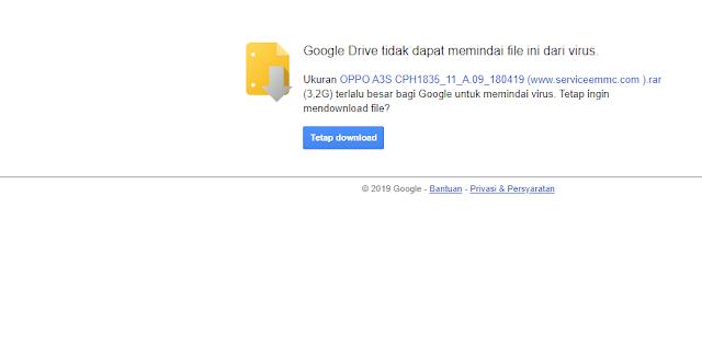 Fix !!! Mengatasi Google Drive-Maaf Anda Tidak Dapat Melihat Atau Mendownload File INi Sekarang