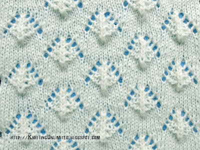 Lace Stitches for Spring 2016 - Pattern 9/10