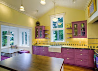 Idea for kitchen with pastel colors