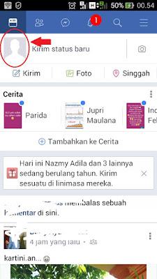 foto profil facebook hilang