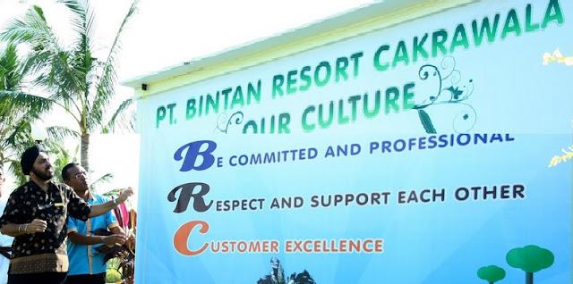 Lowongan Kerja PT. Bintan Resort Cakrawala
