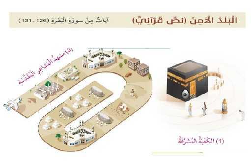 درس البلد الآمن تربية إسلامية