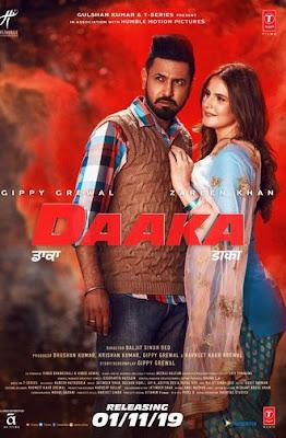 Daaka 2019 [Punjabi DD5.1] 720p WEBRip ESubs Download