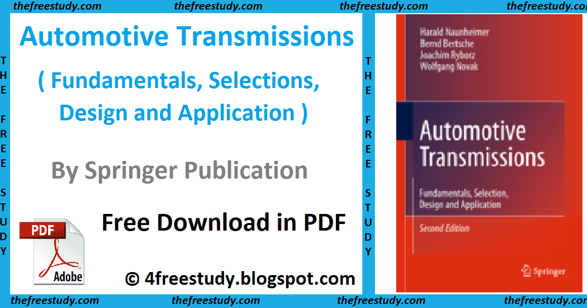 Stylish Dp Girls Automotive Transmissions Fundamentals Selections Design And Application