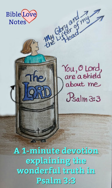 Psalm 3:3 needs to be explained to be fully appreciated. This 1-minute devotion will encourage you about God's care for you.