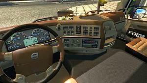 Volvo FH 2009 Classic Brown Beige Interior
