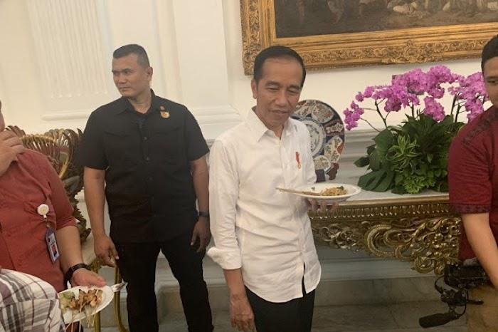 Jokowi: Jangan Bilang Infrastruktur Enggak Bisa Dimakan!