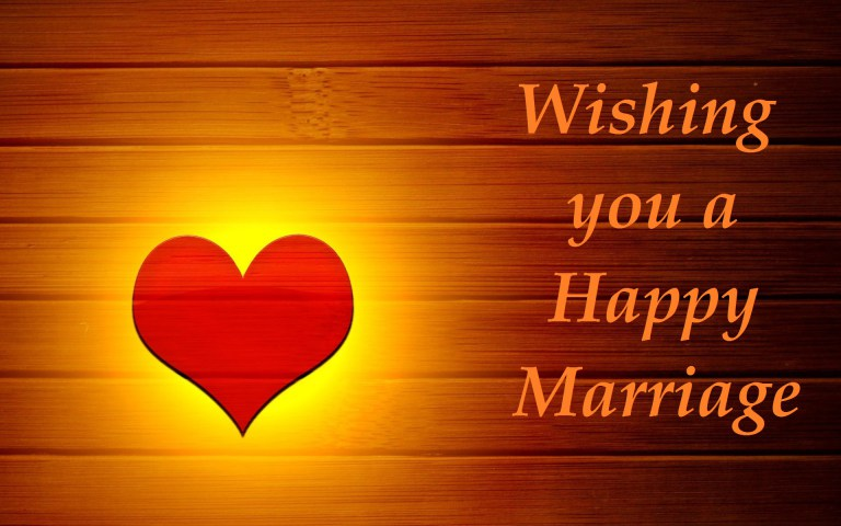 Best Marriage Wishes - Love & Relationship