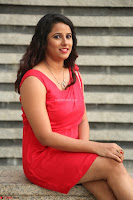 Shravya Reddy in Short Tight Red Dress Spicy Pics ~  Exclusive Pics 115.JPG