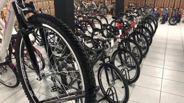 Produção de bicicletas fábricas
