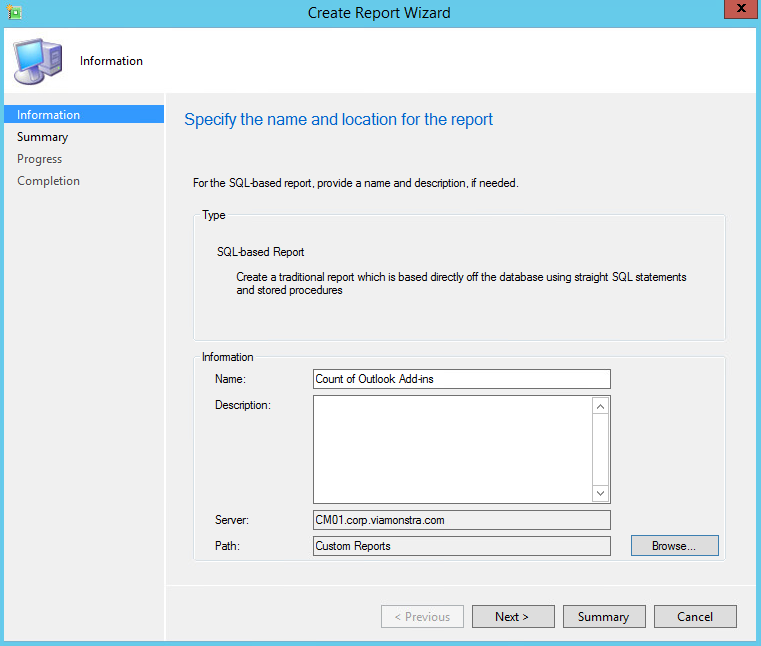 PushDeploy: SCCM Inventory Reporting for Outlook Add-ins Pt 1