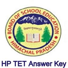 HP TET Answer Key 2018