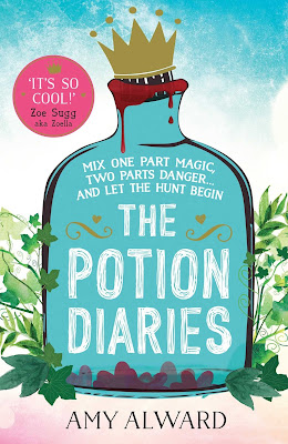The Potion Diaries by Amy Alward book cover