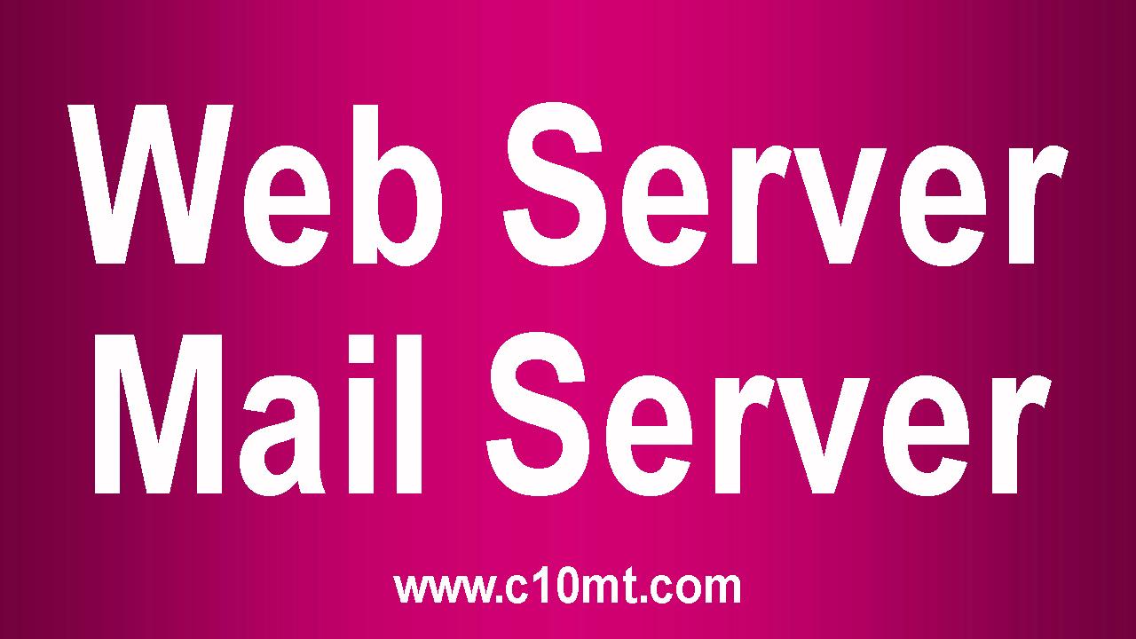 Webserver - Mailserver