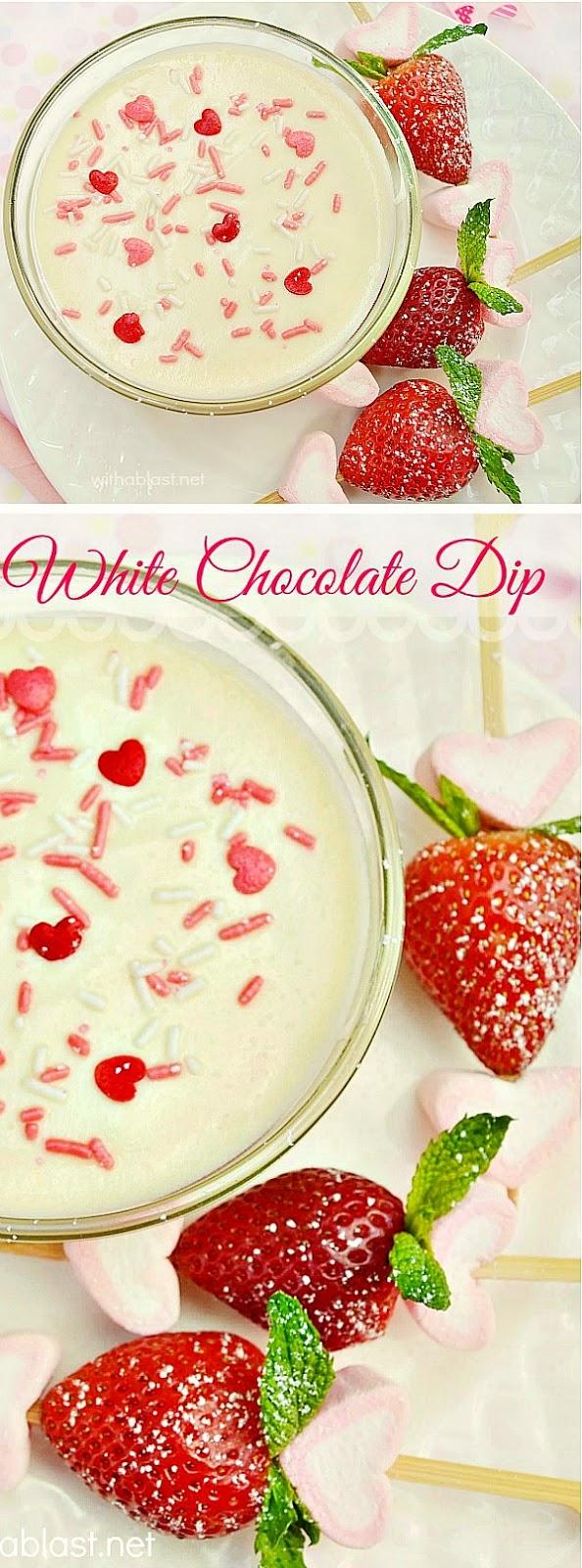 White Chocolate Dip