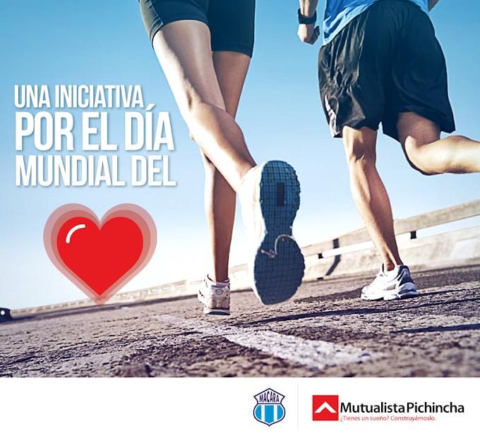 La carrera 5k del corazón en Ambato