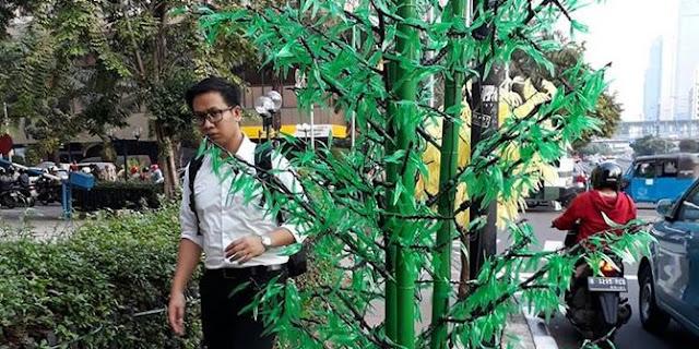 Gubernur Kok Tidak Tahu Kerjaan Anak Buahnya, Berita Pohon Imitasi Jadi Bulan-bulanan, Anies Malah Salahkan......