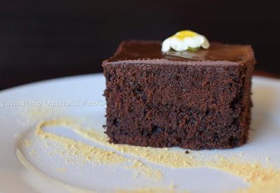 Torta al cioccolato e zenzero