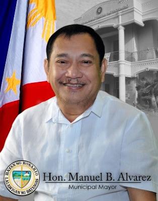 Municipal Mayor Manuel B. Alvarez Rosario Batangas