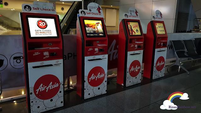 Air Asia kiosk