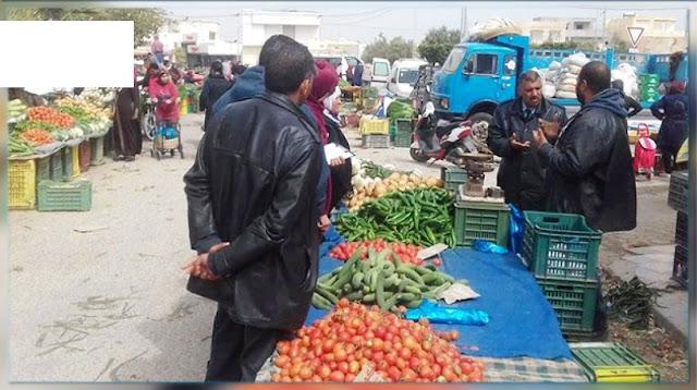 إلغاء انتصاب السوق الأسبوعية بالمهدية ورجيش وبومرداس
