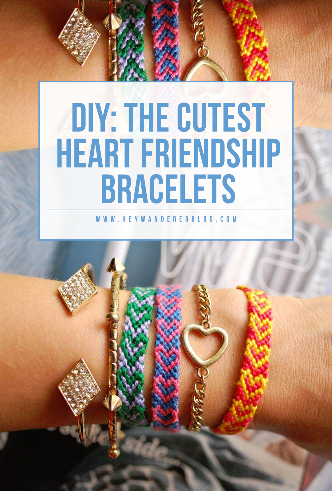 03f84fcacb905 diy: heart friendship bracelets