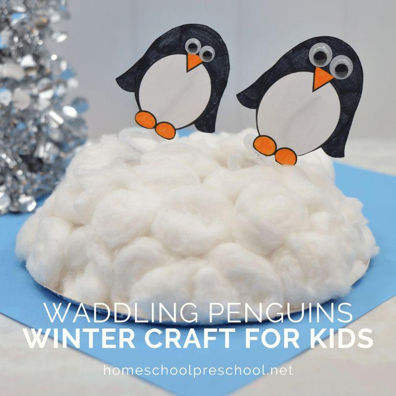 waddling penguins craft