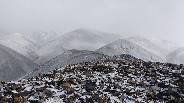 nevado de bauchazeta, zanjerias, cerro
