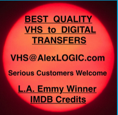 Best Analog VHS to Digital Video Transfers in the world.