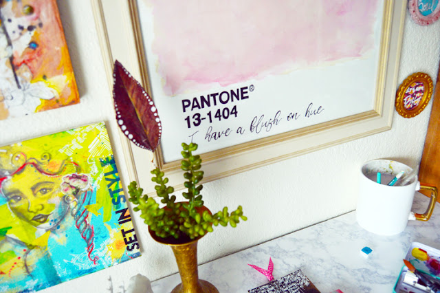 Pantone Inspired Abstract Art | Martice Smith Art + Design
