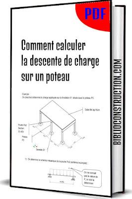 Comment calculer la descente de charge sur un poteau PDF
